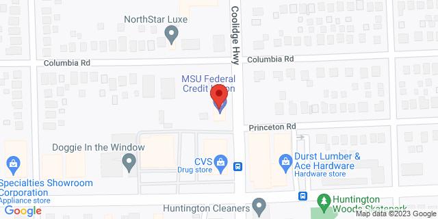 Fifth Third Bank Berkley 1833 COOLIDGE HWY 48072 on Map