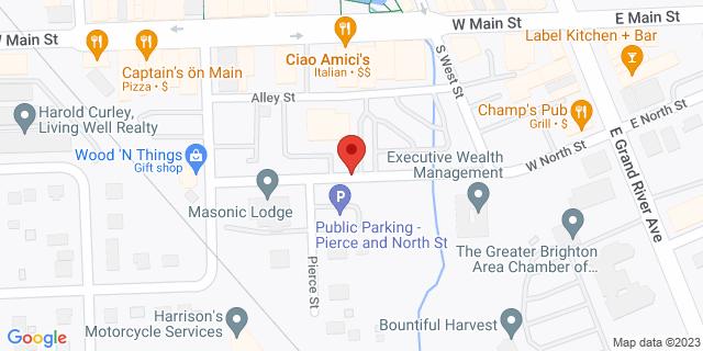 Fifth Third Bank Brighton 300 W. NORTH STREET 48116 on Map
