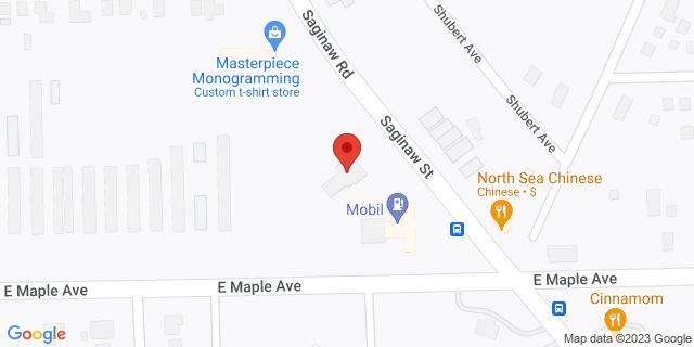 Fifth Third Bank Burton 4512 SAGINAW 48529 on Map