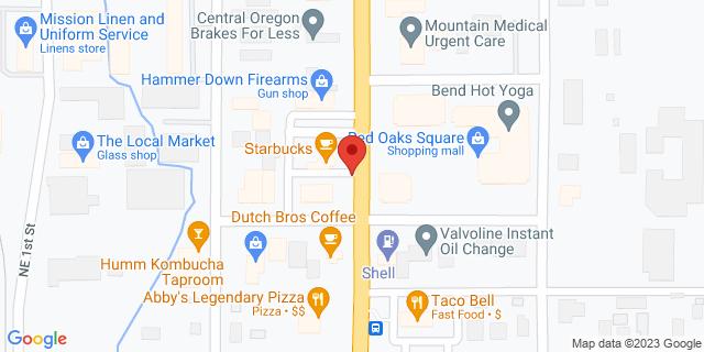 ACE Cash Express Bend 1233 NE 3rd St 97701 on Map