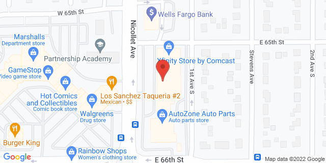 ACE Cash Express Richfield 6525 Nicollet Ave 55423 on Map