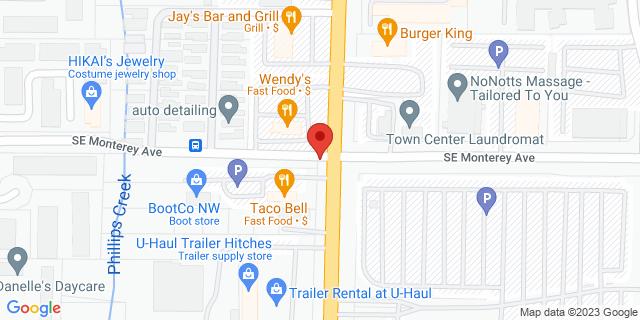 ACE Cash Express Portland 11701 SE 82nd Ave 97086 on Map