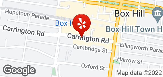 Carrington Cake Shop Box Hill