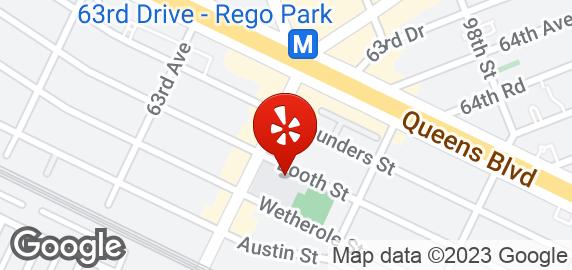 Rego Park Cafe Menu