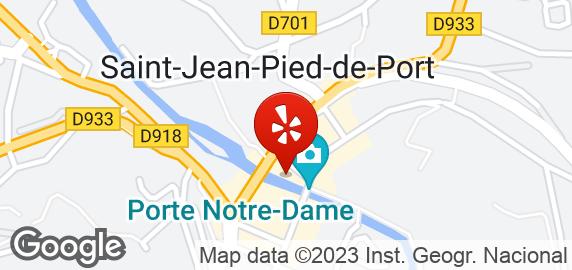 Arrambide hotels 19 place charles de gaulle saint - How to get to saint jean pied de port ...