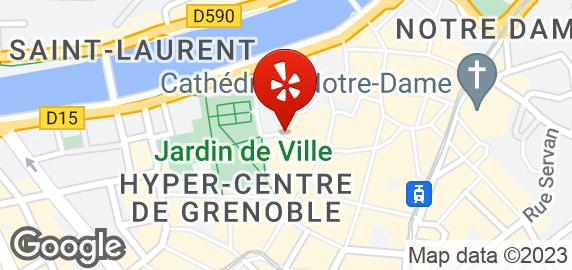 Maps Restaurant Place De Gordes Grenoble