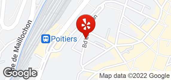 Bar brasserie 2bis rue jacques de grailly poitiers for Plan de la vienne 86000