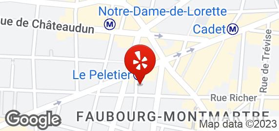 Le peletier metro public transport rue de la victoire - Metro notre dame de lorette ...