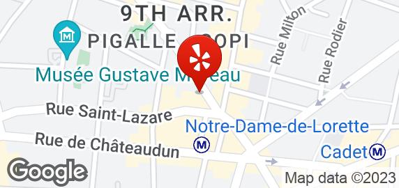 Cafe La Minga  Rue Notre Dame De Lorette Paris