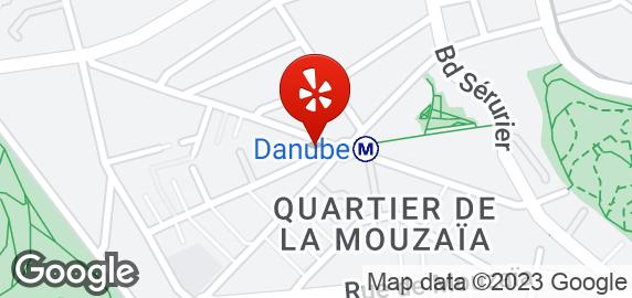 Caf Ef Bf Bd Parisien  Place Rhin Et Danube  Paris