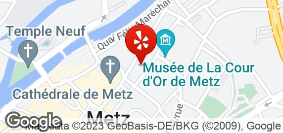 Restaurant Le Dauphin Ef Bf Bd Rue Du Chanoine Collin Metz