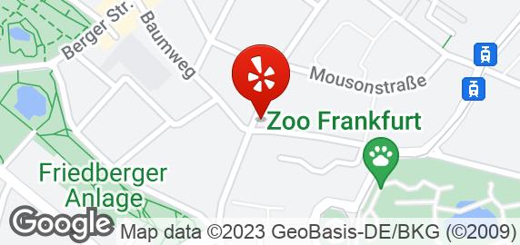 Cafe Esquina Sandweg Frankfurt