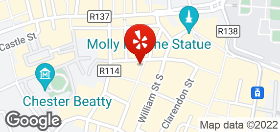 Map Drury Street Car Park