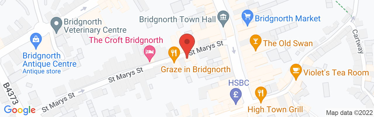 Map of Bec's Coffee