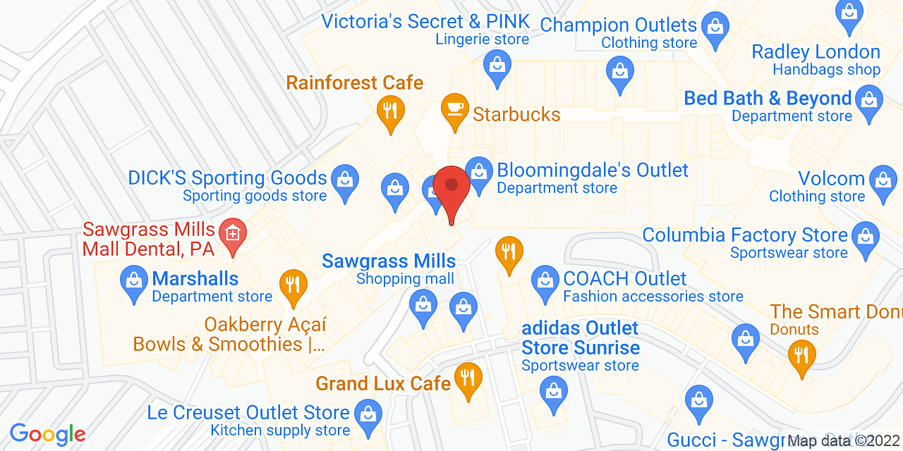 Burberry Factory Outlet on Map