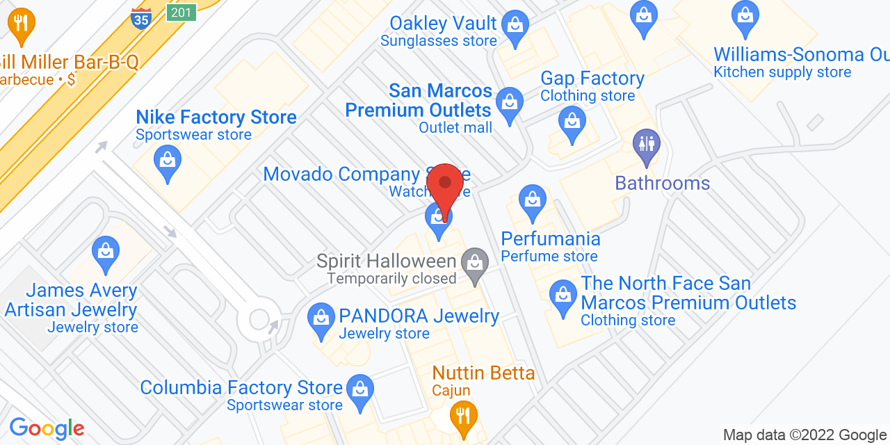 Pottery Barn on Map