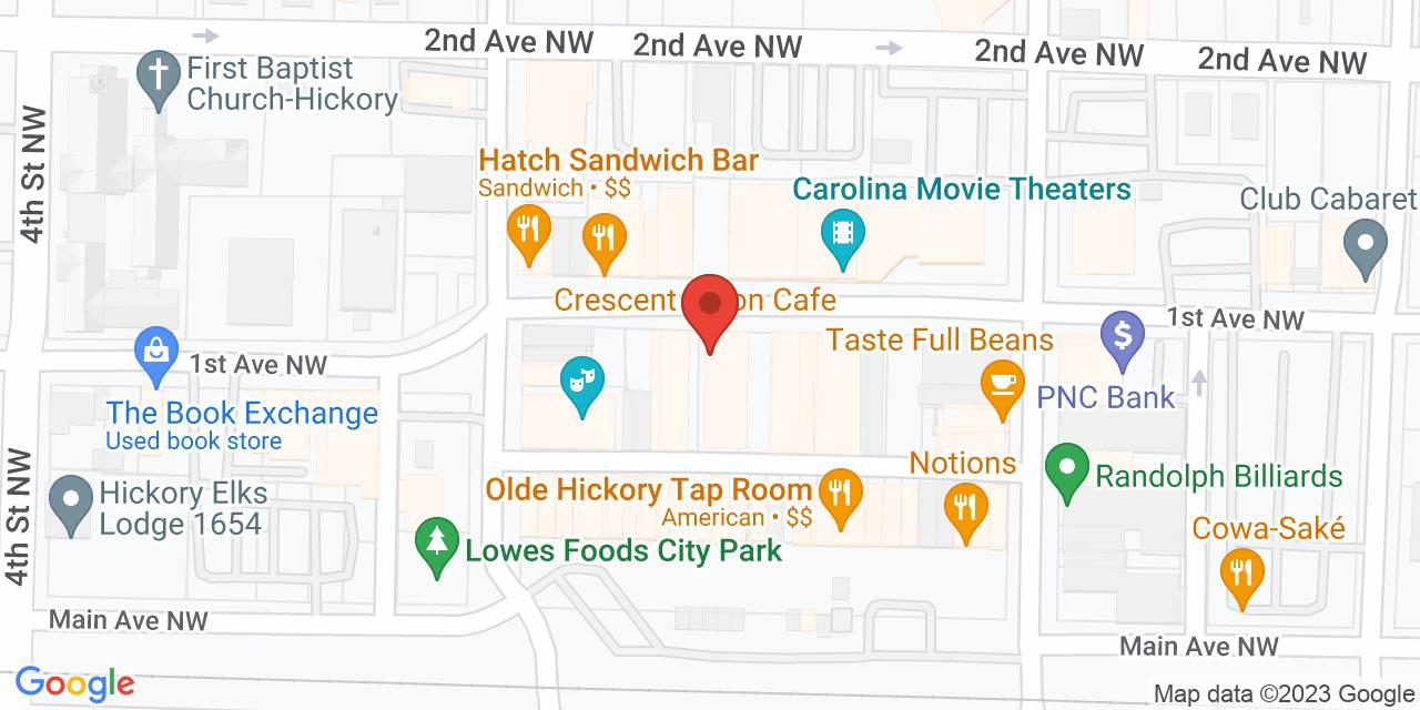 Millennium on Map