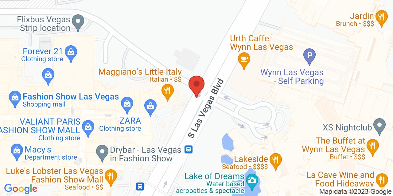 lululemon athletica on Map