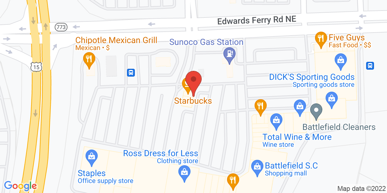 Burberry on Map