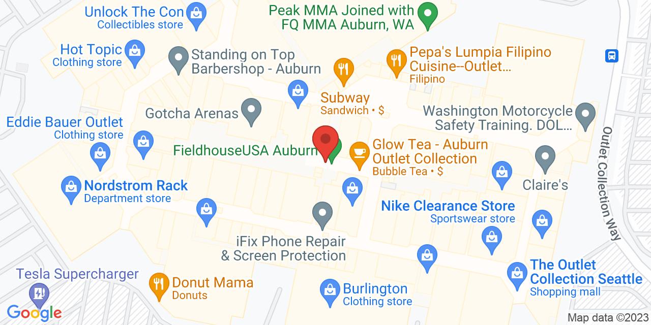 Van Heusen Direct on Map