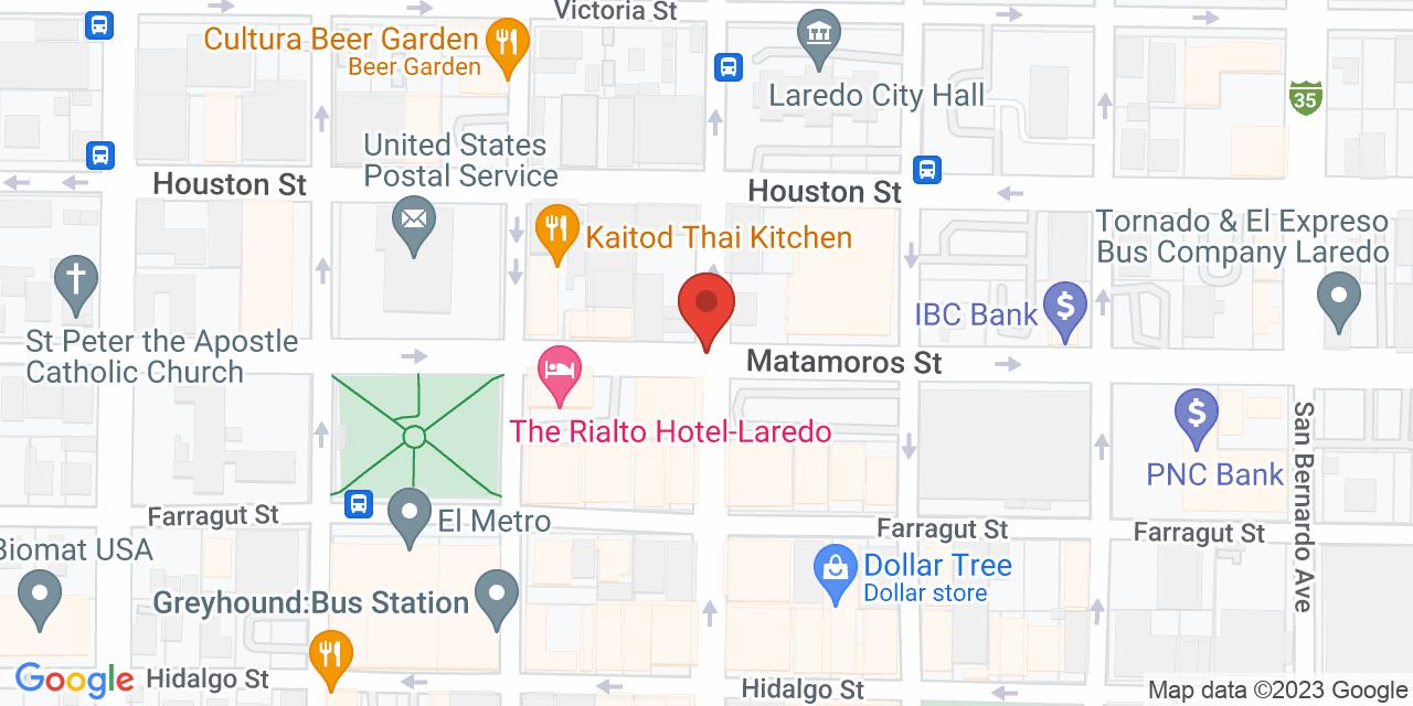 Bealls on Map