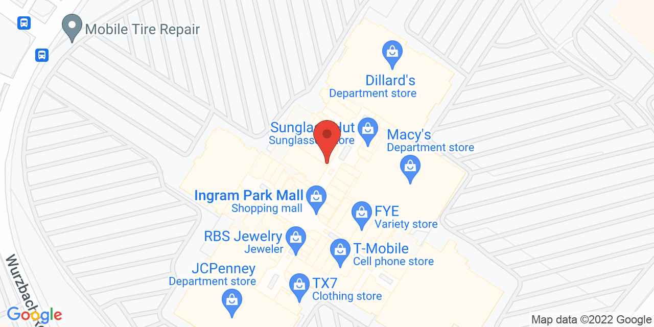 Dallas Cowboys Pro Shop on Map