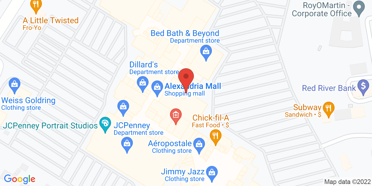 Body Central on Map