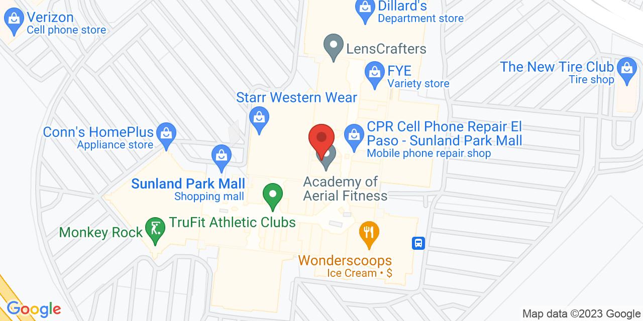Dillard's East on Map