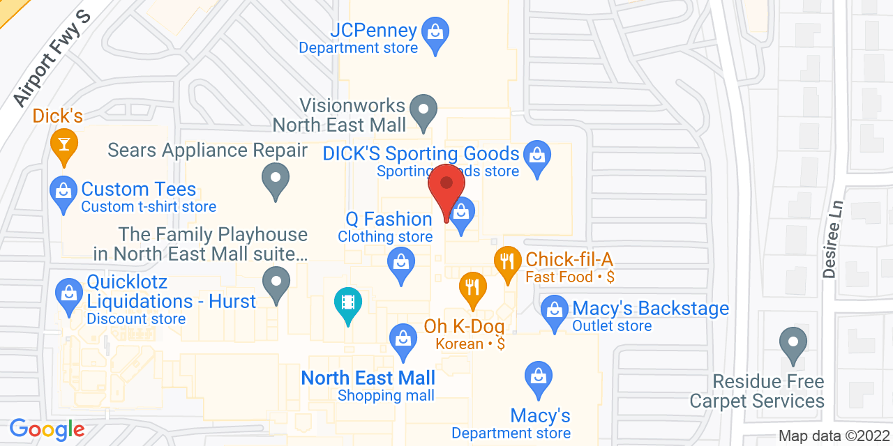Nordstrom on Map