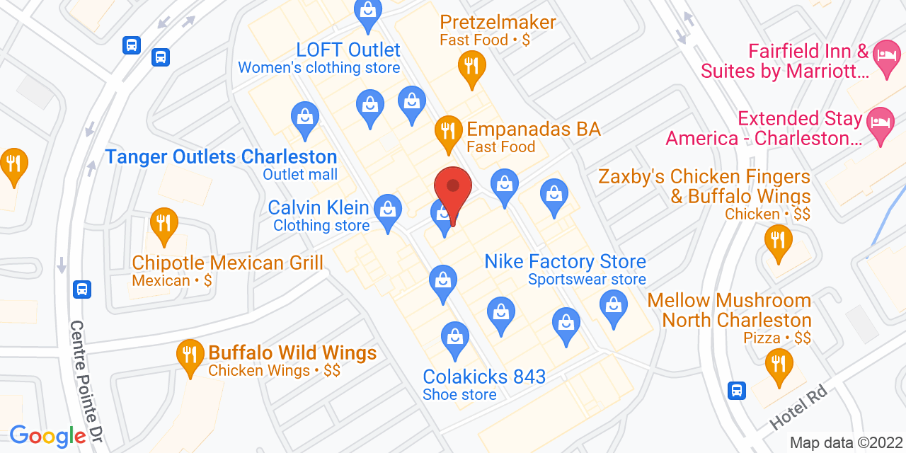 Chico's Outlet on Map