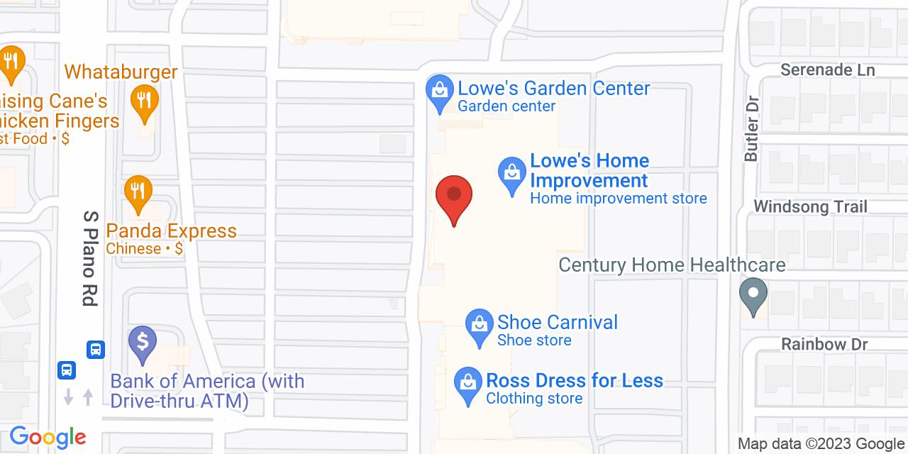 Ross Dress for Less on Map