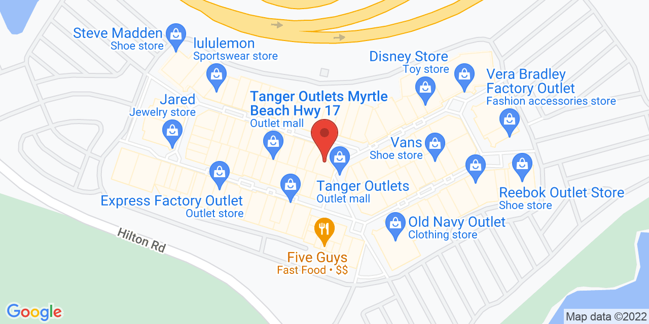 Coldwater Creek Outlet on Map