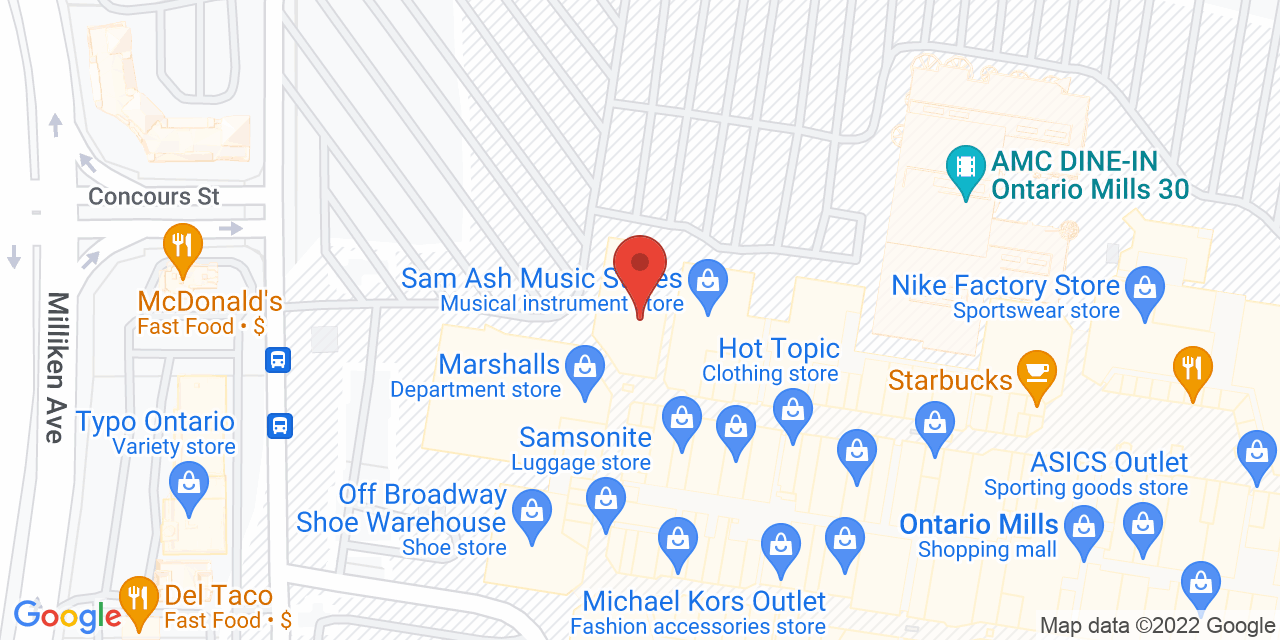 Corningware Corelle Revere Factory Store on Map