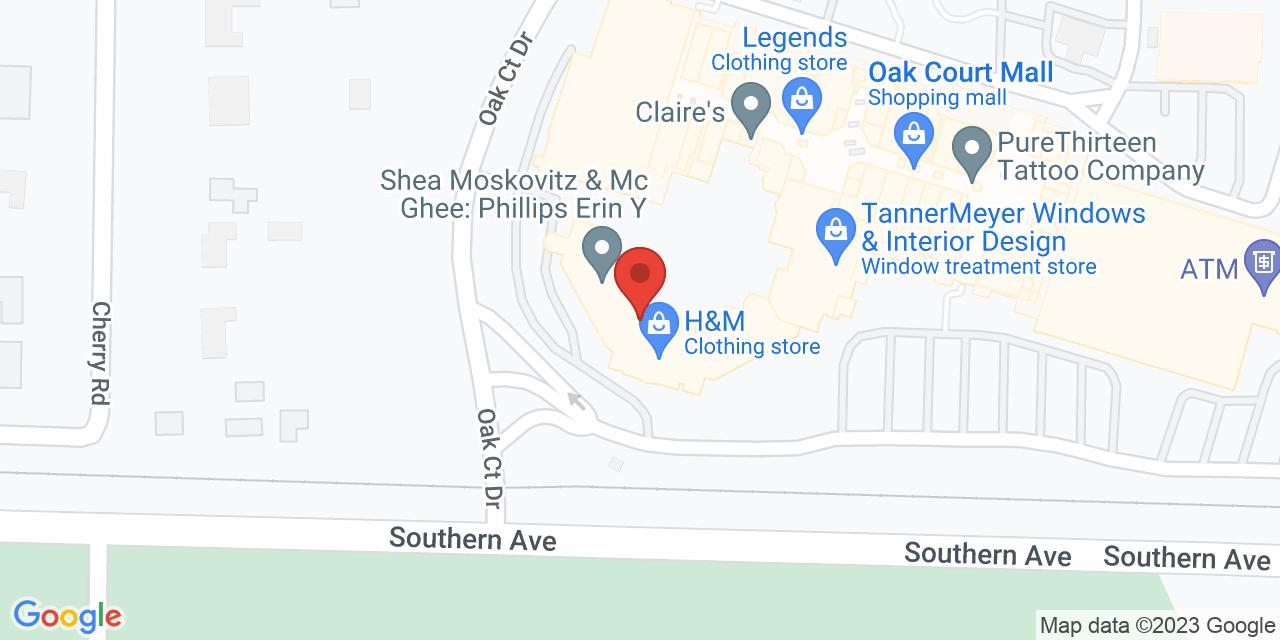 Dillard's on Map
