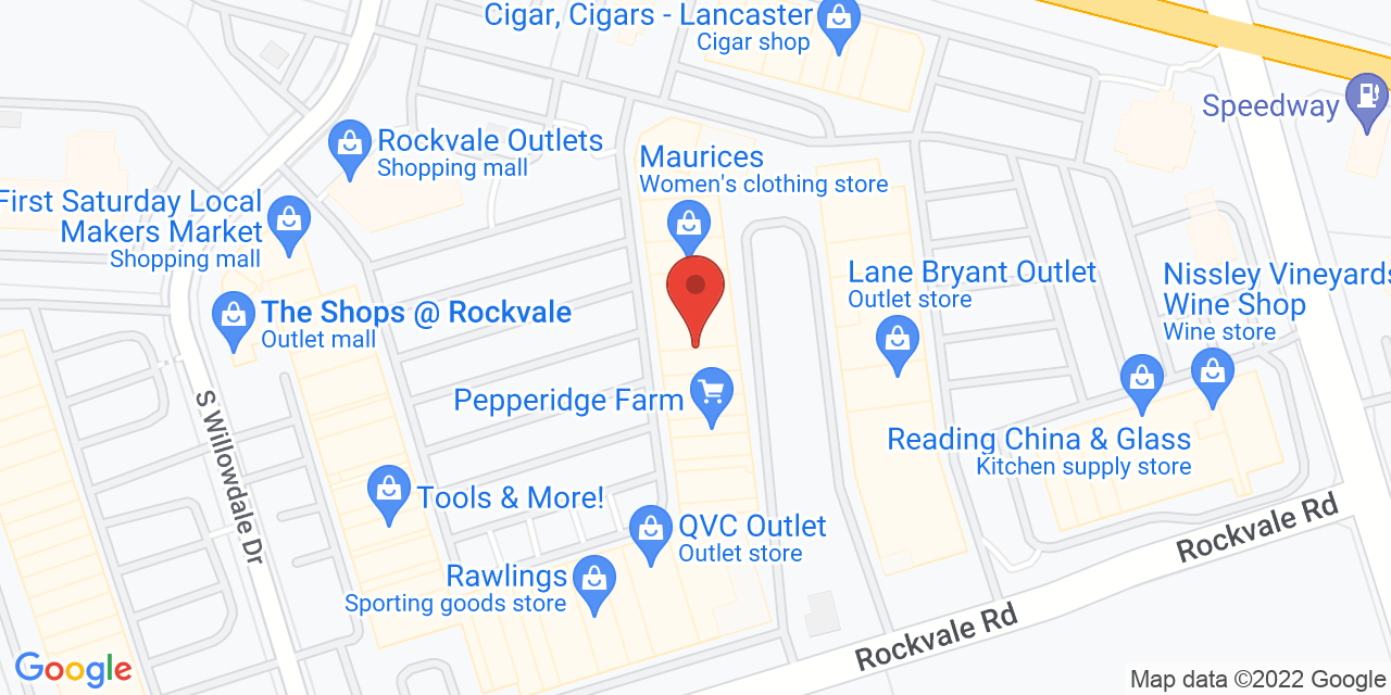 Pottery Barn Outlet on Map