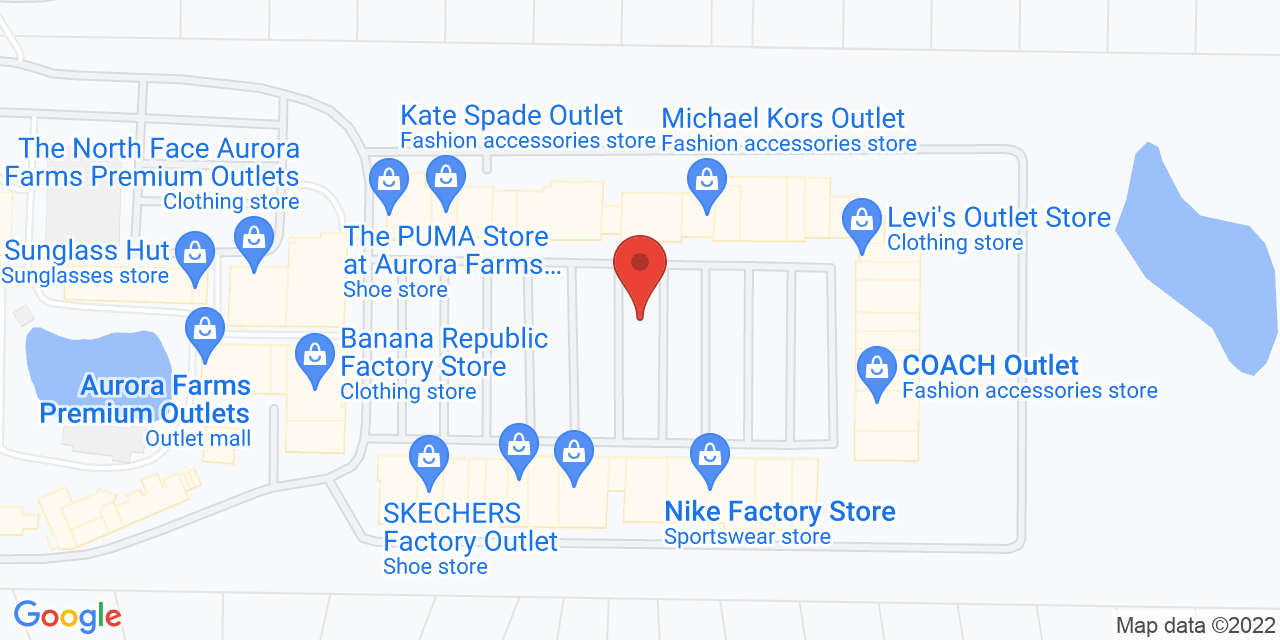 Ralph Lauren Factory Store on Map