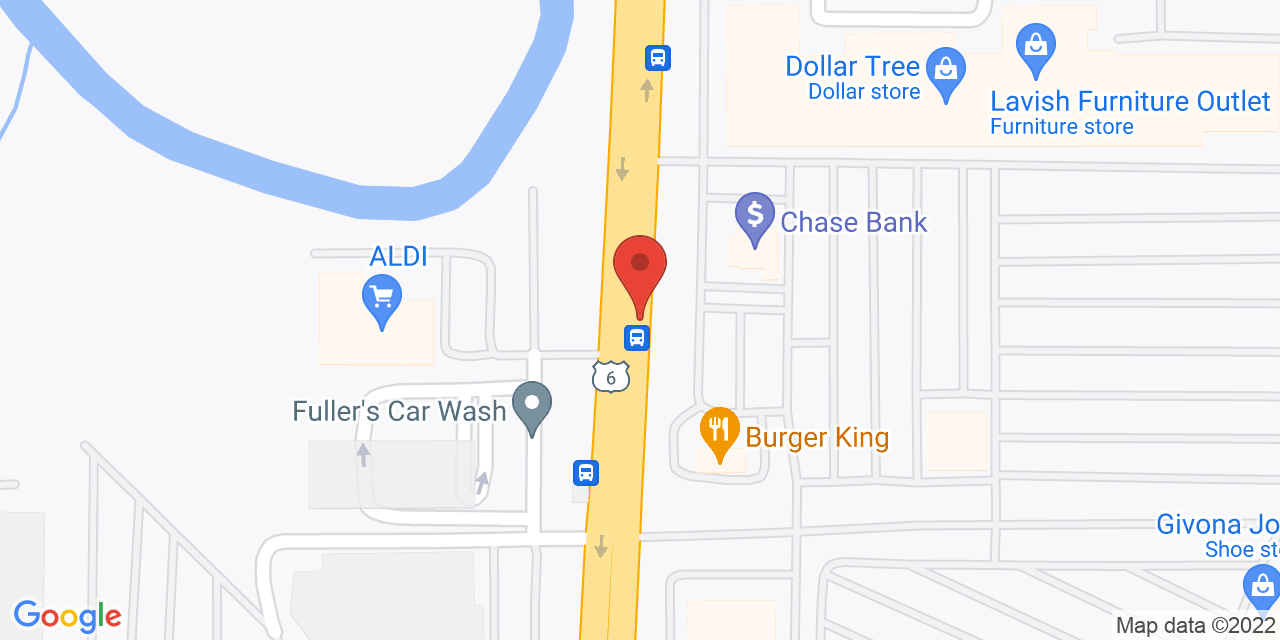 Carson's Clearance Center on Map