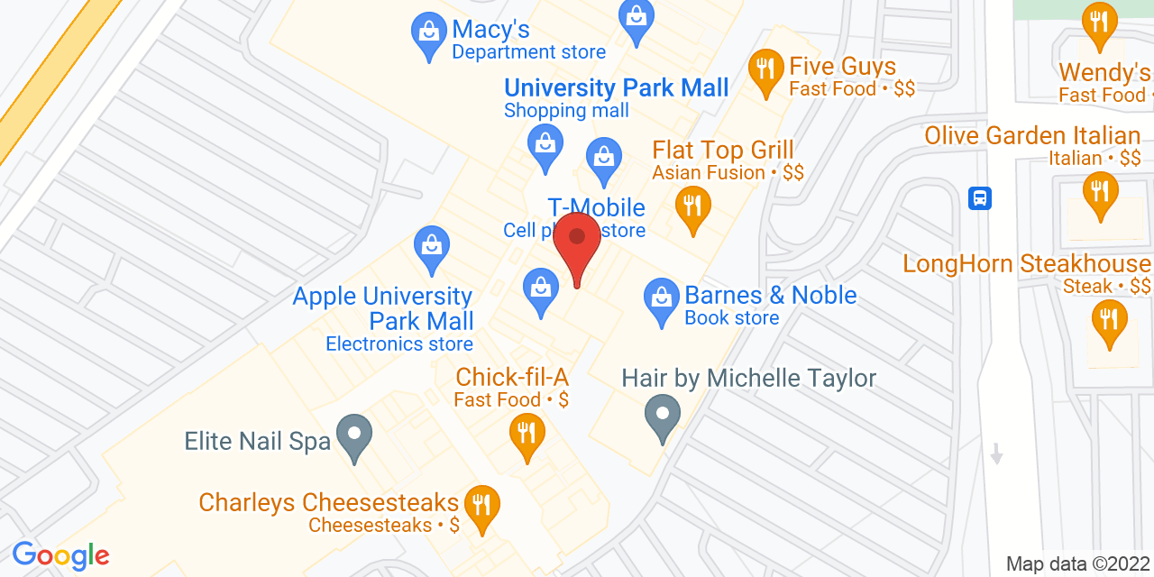 Apple Store on Map