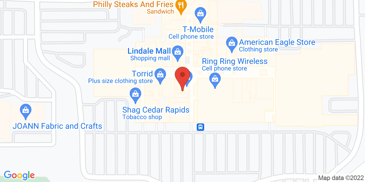 Hot Topic on Map