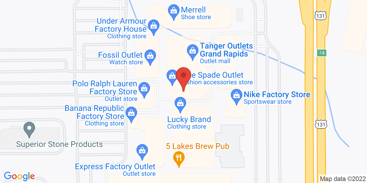 Polo Ralph Lauren Factory Store on Map