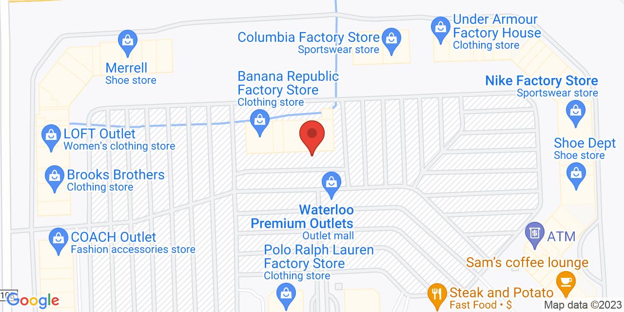 Longaberger on Map