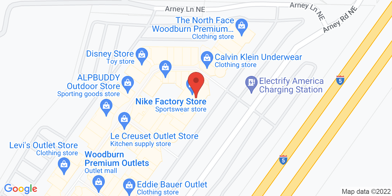 North Face on Map
