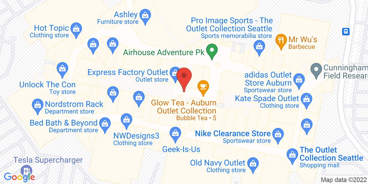 Coach Factory Outlet on Map