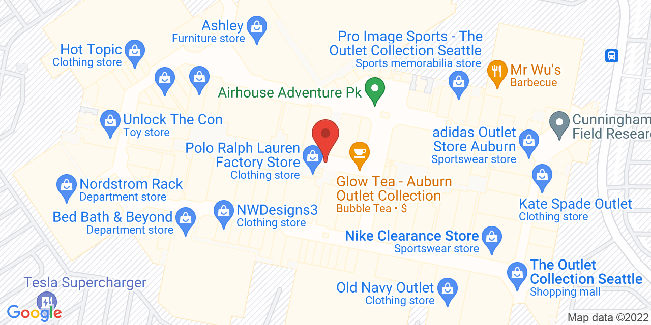 Coach Factory Store on Map