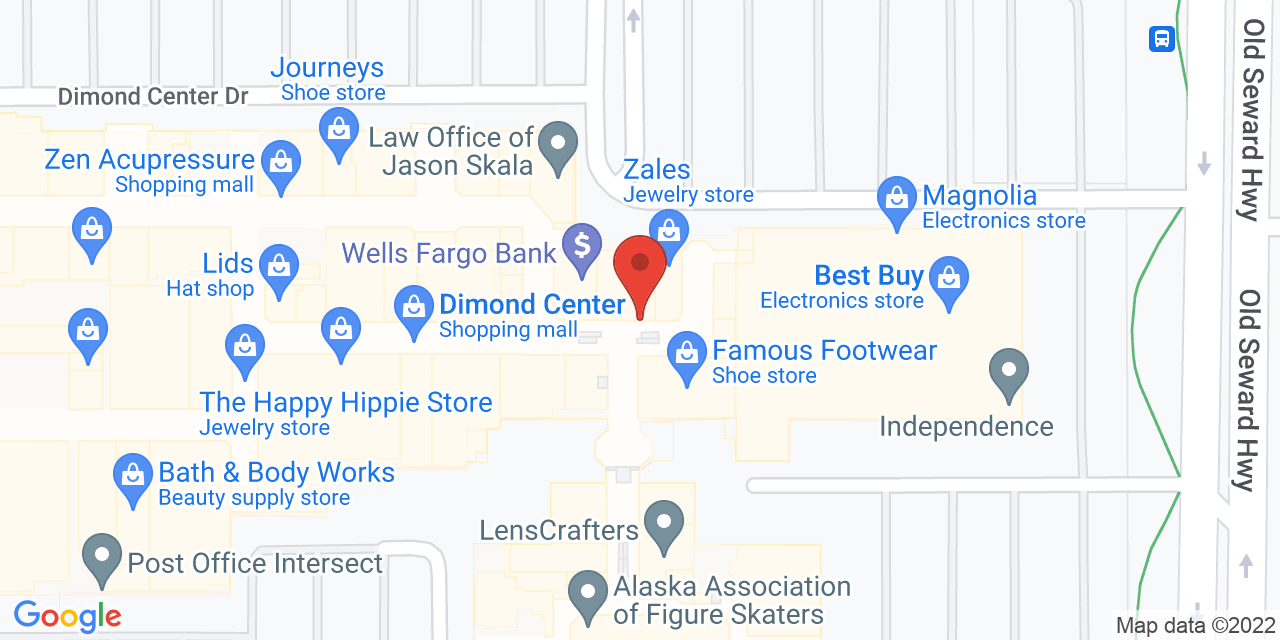 AT&T MOBILITY on Map