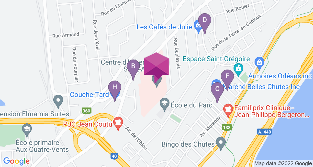 Centre d'hébergement Saint-Augustin