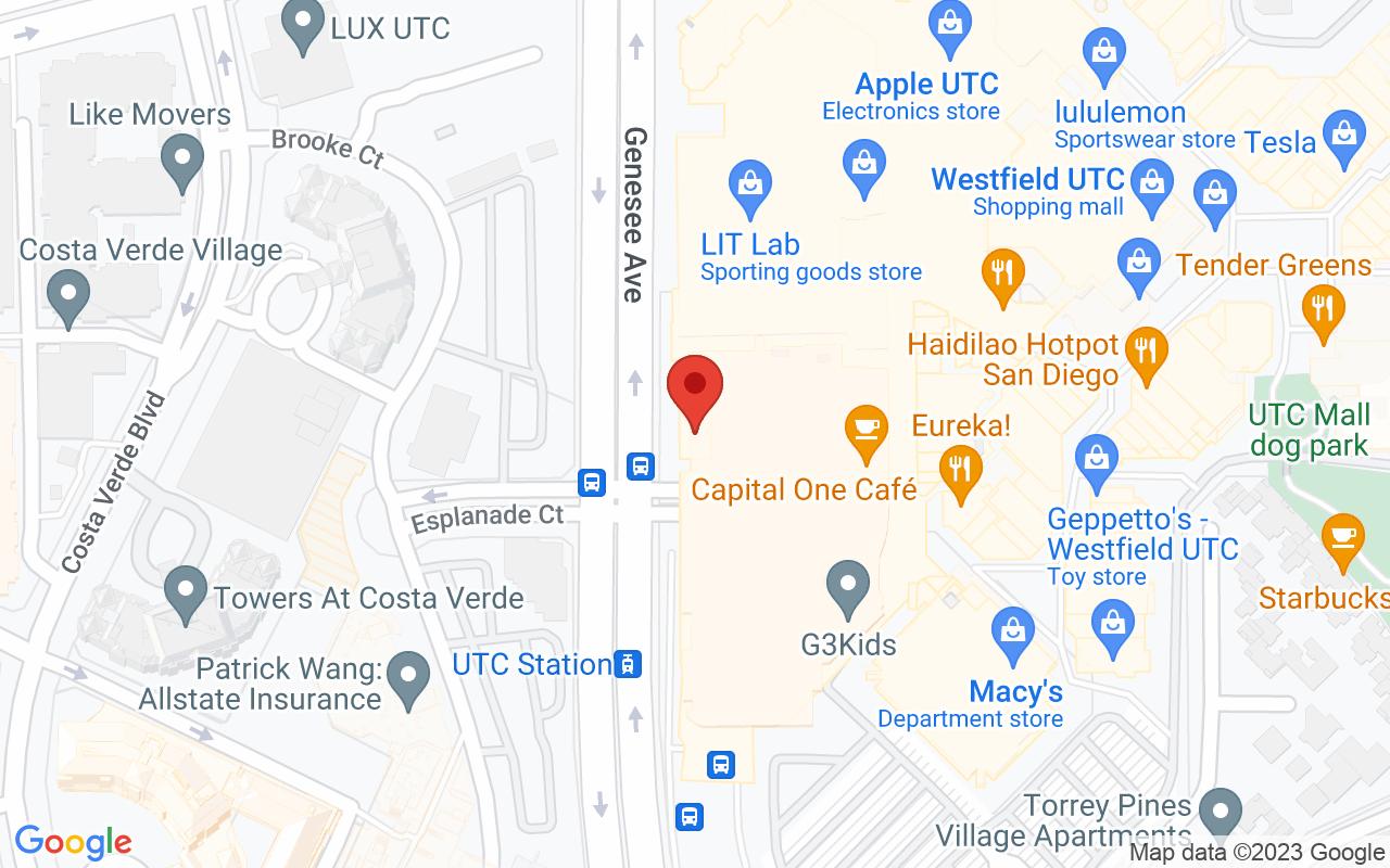 Drive to Great Maple La Jolla/ UTC