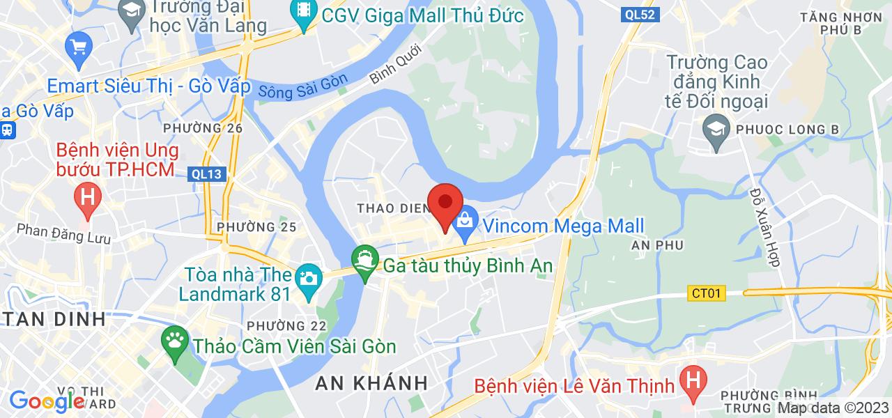 Địa chỉ Cho thuê biệt thự góc 2 mặt tiền Võ Trường Toàn Thỏa Điền Quận 2 (LH 0901065769)