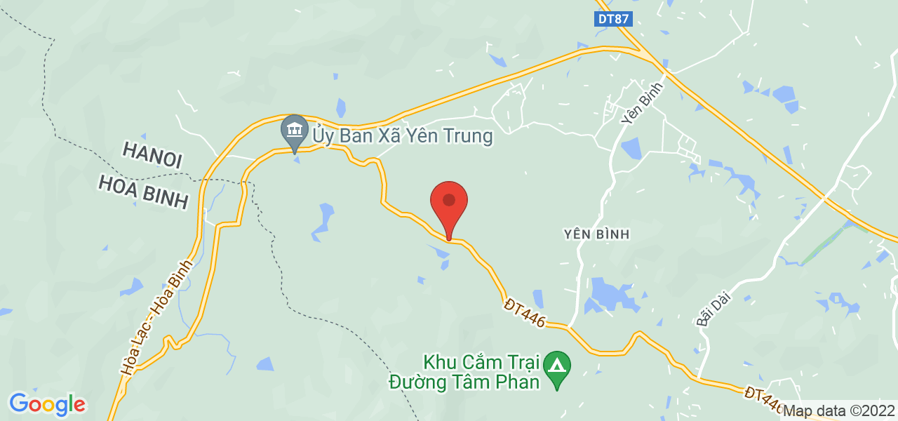 Địa chỉ Bán đất nghỉ dưỡng, Biệt thự nhà vườn tại Yên Trung, Thạch Thất. Đối diện khu du lịch Thác Bạc. LH: 0332901616