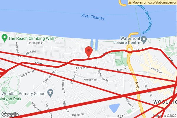 Bus route map
